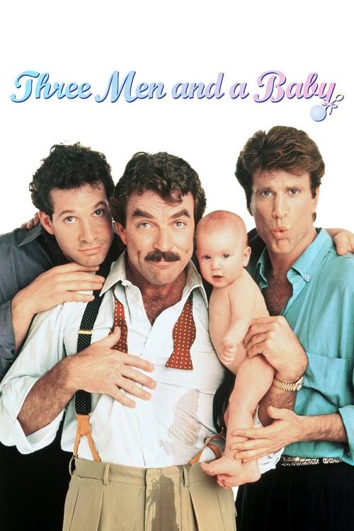 Tre män och en baby