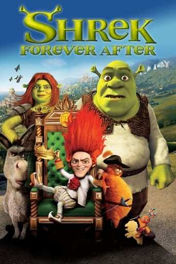 Från filmen Shrek forever after som sänds på Viasat Film Family