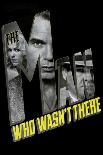 Från filmen The man who wasn't there som sänds på Viasat Film Action