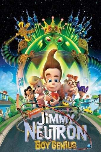 Bild från filmen Jimmy Neutron: Underbarnet