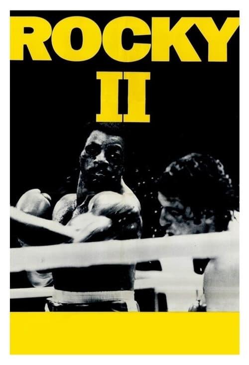 Från filmen Rocky 2 som sänds på TV4 Film