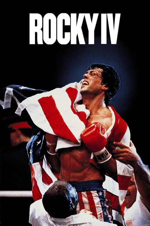 Från filmen Rocky 4 som sänds på TV4 Film