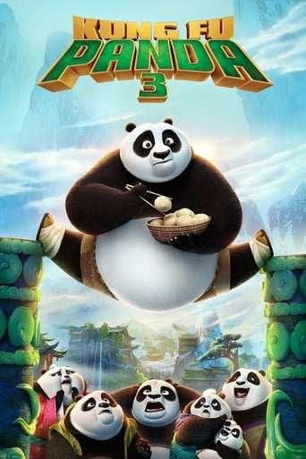 Bild från filmen Kung fu panda