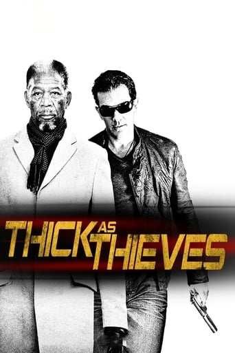 Från filmen Thick as thieves som sänds på TV4 Film