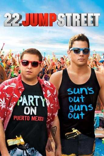 Från filmen 22 Jump Street som sänds på TV4