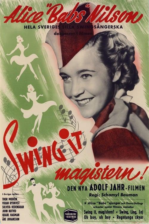 Swing it, magistern!