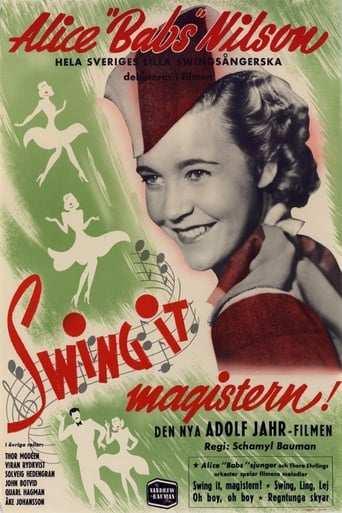 Bild från filmen Swing it, magistern!