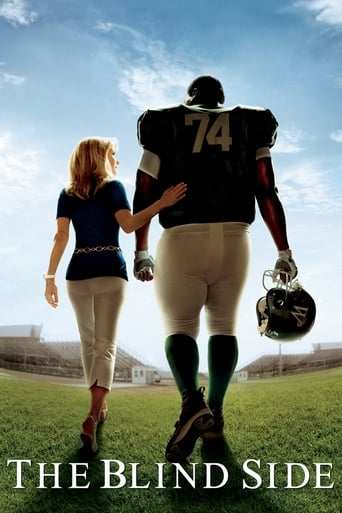 Från filmen The blind side som sänds på C More First