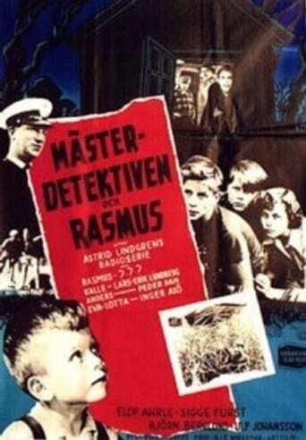 Bild från filmen Mästerdetektiven och Rasmus