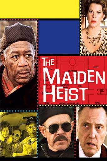 Från filmen The maiden heist som sänds på Viasat Film Action