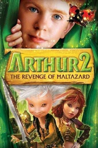 Bild från filmen Arthur och Maltazard
