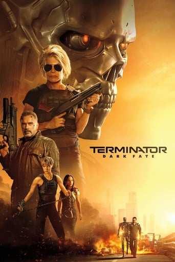 Från filmen Terminator: Dark fate som sänds på Viasat Film Action
