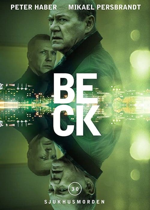Från filmen Beck: Sjukhusmorden som sänds på TV4