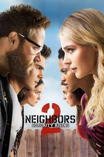 Från filmen Bad neighbours som sänds på C More First