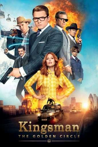 Bild från filmen Kingsman: The golden circle