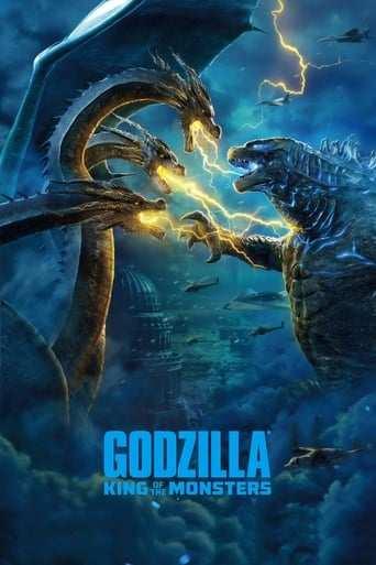 Bild från filmen Godzilla 2: King of the monsters