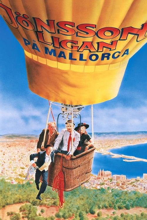 Från filmen Jönssonligan på Mallorca som sänds på C More SF