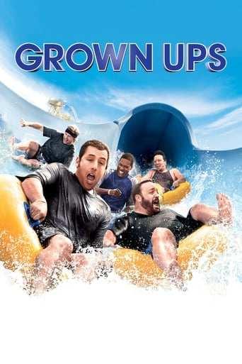 Från filmen Grown ups som sänds på TV6