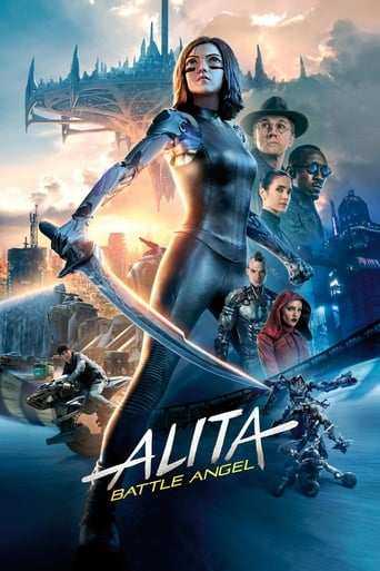 Från filmen Alita: Battle Angel som sänds på Viasat Film