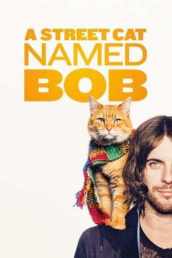 Från filmen A street cat named Bob som sänds på Viasat Film Hits