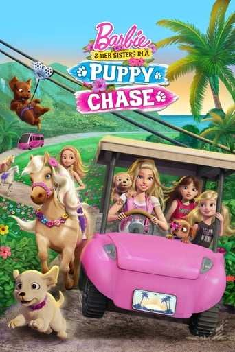 Bild från filmen Barbie och hennes systrar på valpjakt