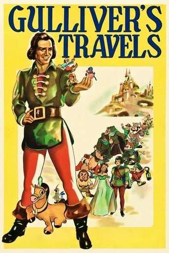 Från filmen Gullivers resor som sänds på TV6