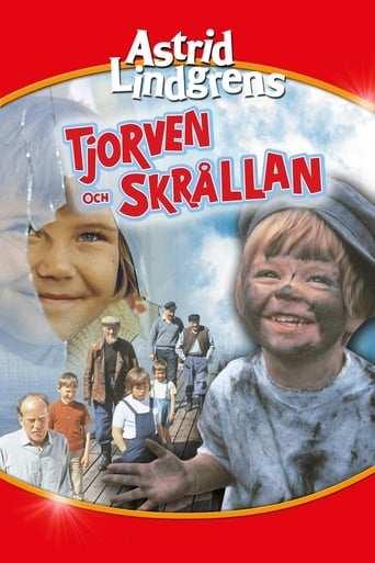 Bild från filmen Tjorven och Skrållan