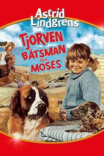 Från filmen Tjorven, Båtsman och Moses som sänds på C More SF