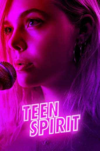 Från filmen Teen spirit som sänds på C More Stars