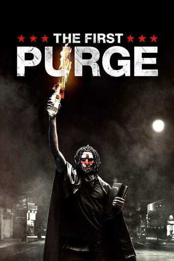 Från filmen The first purge som sänds på C More Hits