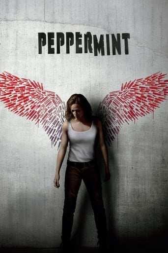 Från filmen Peppermint som sänds på C More Stars