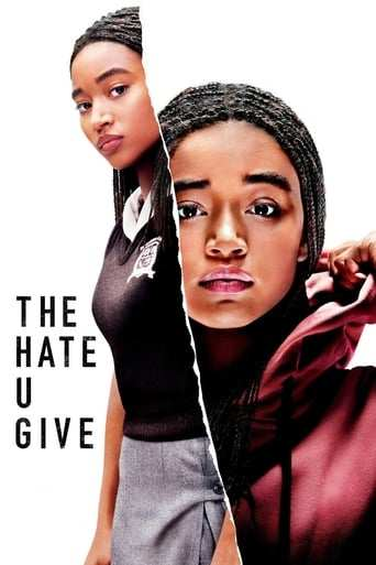 Från filmen The hate u give som sänds på Viasat Film Hits