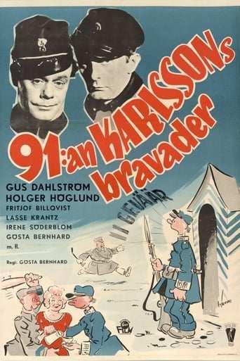 Bild från filmen 91:an Karlssons bravader