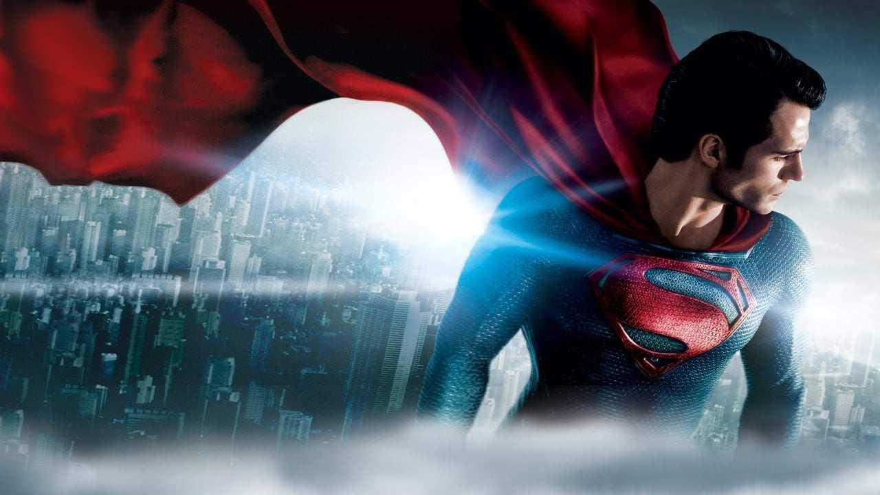 Man of steel regisserad av Zack Snyder