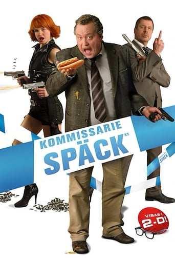 Från filmen Kommissarie Späck som sänds på TV12