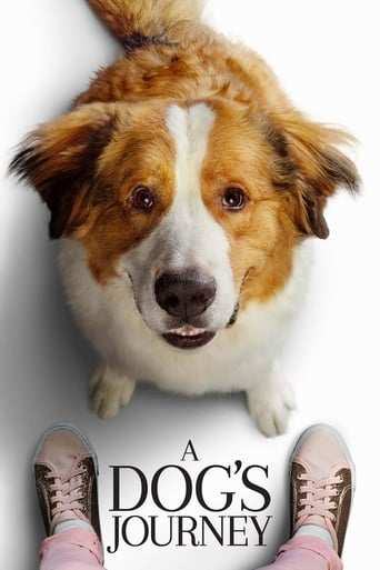 Från filmen A dog's journey som sänds på Viasat Film Family