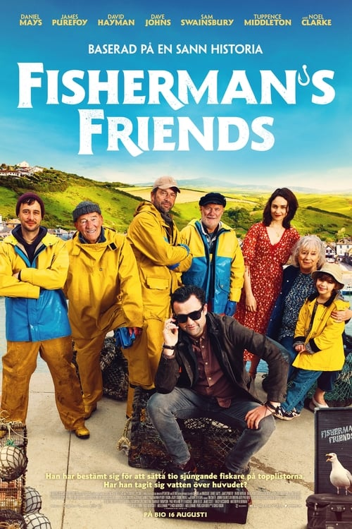 Från filmen Fisherman's friends som sänds på Viasat Film Hits