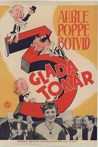 Bild från filmen Tre glada tokar