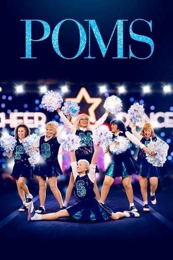 Från filmen Poms som sänds på Viasat Film Family