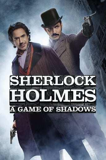 Från filmen Sherlock Holmes: A game of shadows som sänds på Kanal 5