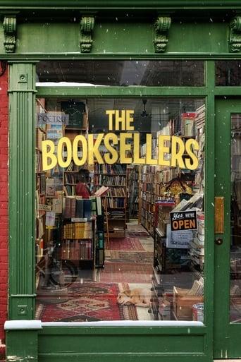Från filmen The booksellers som sänds på C More Stars