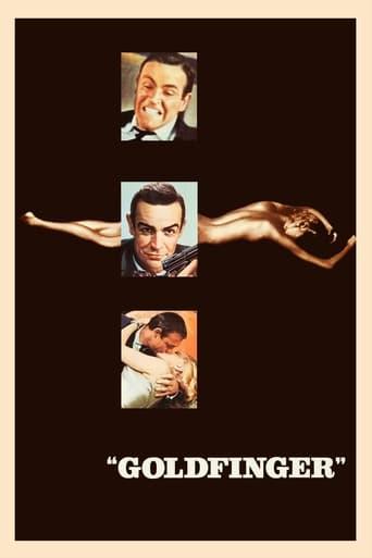 Från filmen Goldfinger som sänds på TV12