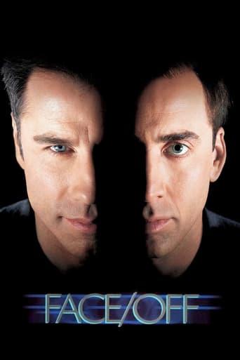 Från filmen Face off som sänds på Viasat Film Action