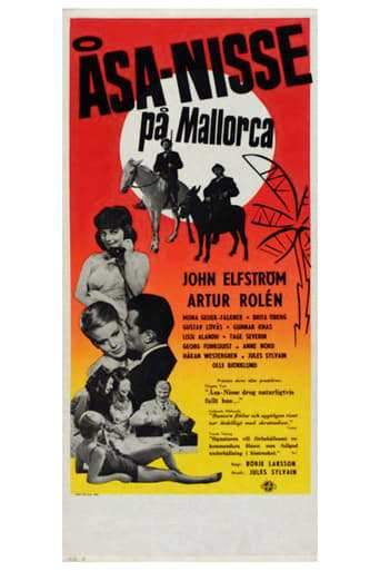 Bild från filmen Åsa-Nisse på Mallorca