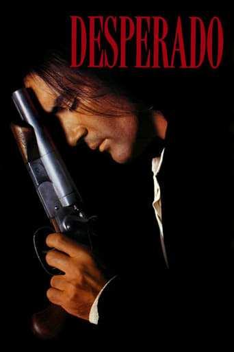 Från filmen Desperado som sänds på Viasat Film Action