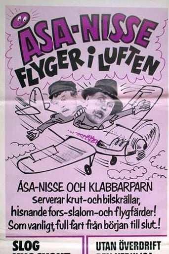 Film: Åsa-Nisse flyger i luften