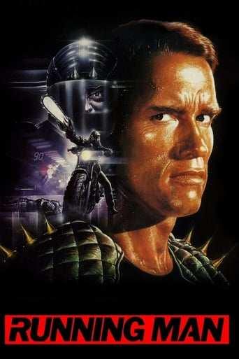Från filmen The running man som sänds på TV12