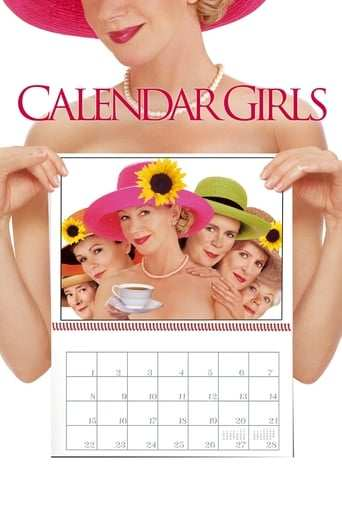 Från filmen Calendar Girls som sänds på DR2