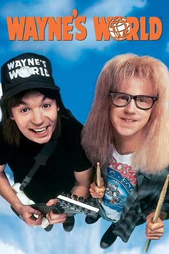 Från filmen Wayne's world som sänds på TV4 Film