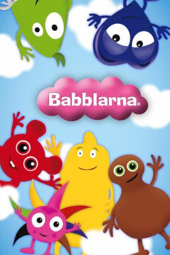 Från TV-serien Babblarna som sänds på Barnkanalen